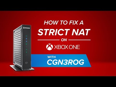 How to Fix a Strict NAT on XBOX ONE With CGN3ROG