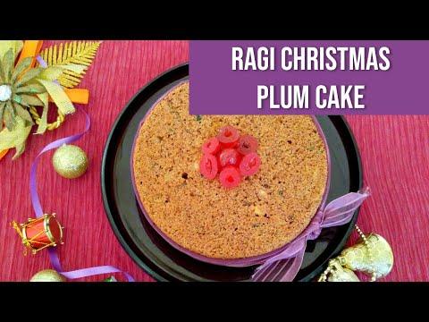 Ragi Christmas Plum Cake