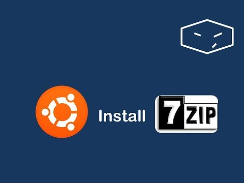 install 7zip from terminal in ubuntu