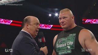 #wtm Wwe Raw 7/13/15 Charlotte, Sasha, & Becky Debut | Brock/seth Contract Signing