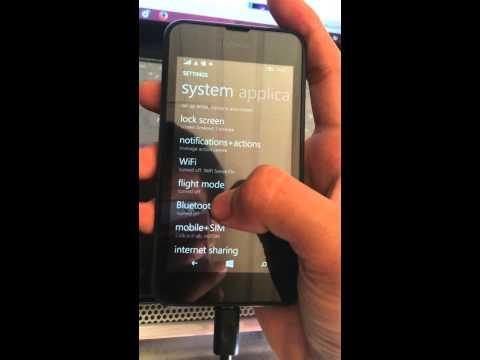 How to turn on WIFI hotspot (sharing internet) on Nokia Lumia 530