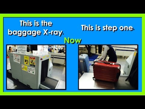 At The Airport | Getting Through Security |  Easy English Conversation Practice | ESL