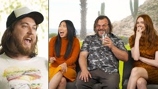 Ozzy Man & Jack Black, Karen Gillan & Awkwafina Interview + GUESS THE AUSSIE SLANG