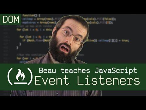 addEventListener() - Beau teaches JavaScript