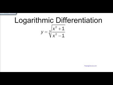 Logarithmic Differentiation (Complex Function Example #2)