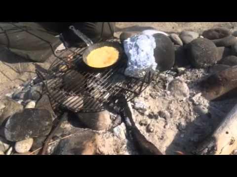 Gina's campfire corn bread