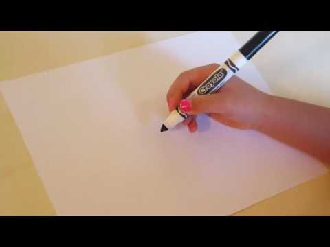 How to draw SpongeBob for kids with DIY Supergirl
