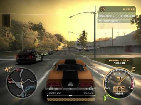 NEED FOR SPEED MOST WANTED 2005, ESCAPE FROM SUV POLICE VEHICLES PART 1