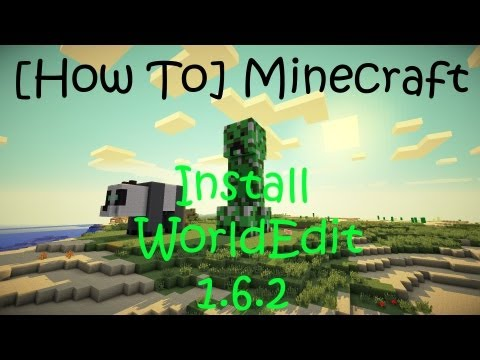 [How To] Install Single Player Commands/ World Edit Minecraft 1.6.2