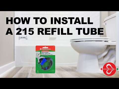 Fixing A Leaking Toilet: Fluidmaster Water Saving Roller Clamp 215