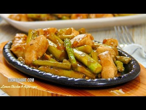 Lemon Chicken and Asparagus