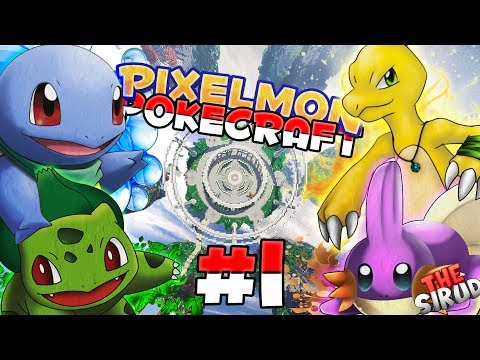 A VERY SHINY START! | Minecraft Pixelmon Ep 1 - Minecraft Pixelmon Pokecraft Server