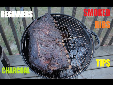 Charcoal Smoked Ribs Tips For Beginners