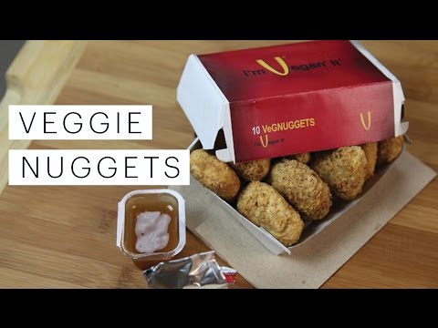 Vegan Recipe: Veggie Nuggets (Chicken McNuggets Recipe) | Edgy Veg