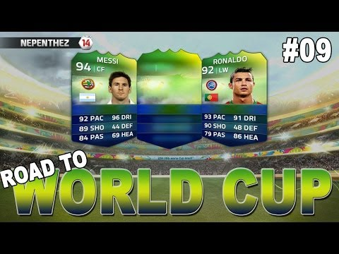 WORLD CUP FINAL!!! FIFA 14 Ultimate Team - Road to World Cup #09