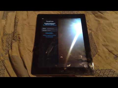 iPad 2 iOS 9.3.5 FaceTime glitch to Dns bypass icloud