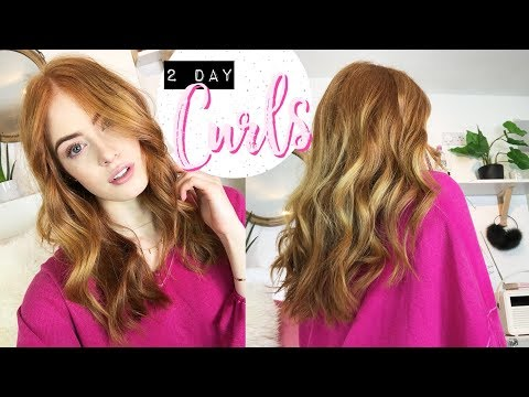 HOW TO GET 2 DAY CURLS | MsRosieBea