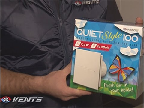 Review of VENTS QUIET-Style dometic fan. Mounting and wiring of the silent and energy saving fan
