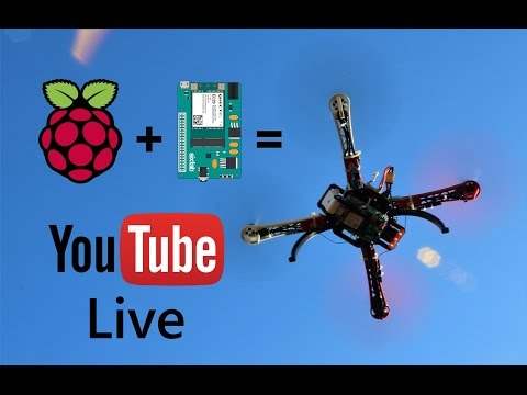 Turn Your Raspberry Pi into the Open Source Drone Youtube Live Video Streamer