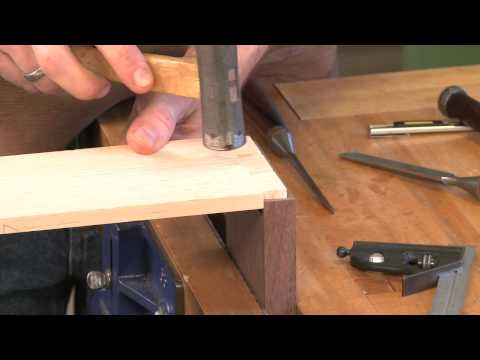 Tips for Cutting Half Blind Dovetails Part 2, with Tim Rousseau