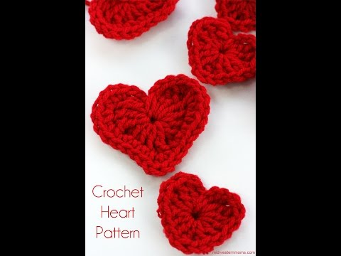 How to Crochet a Heart (2 types)
