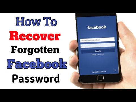 How to Recover Forgot Facebook Password on Mobile 2018...Recover Facebook Password in Android