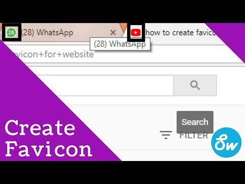 how to create favicon for all devices | how to create url address bar icon