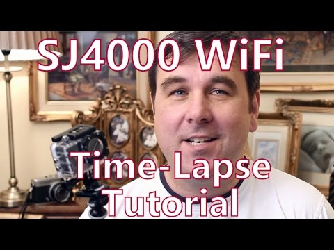 SJCAM SJ4000 WiFi Action Camera Time Lapse How-To Guide