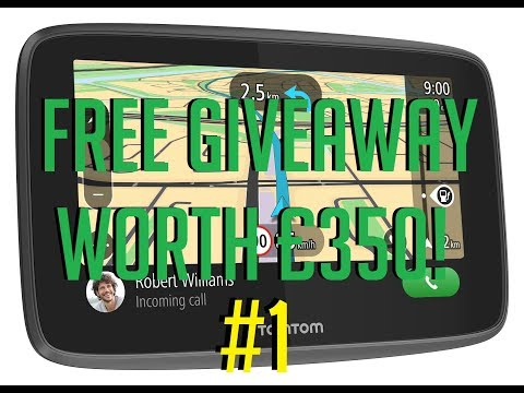 TomTom Give away: Want A FREE SatNav Worth £350?