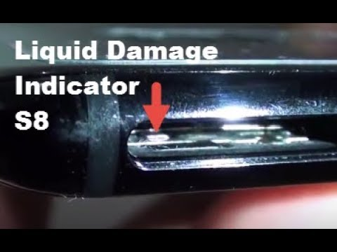 Samung Galaxy S8: How to Find Water Damage Indicator
