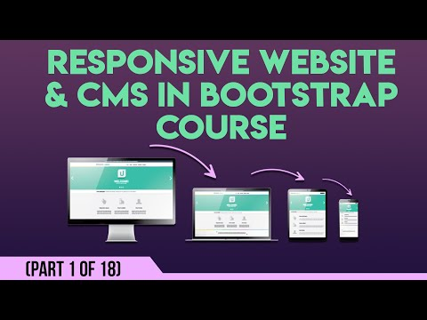 Responsive Website & CMS in Bootstrap in Urdu/Hindi 1 of 18