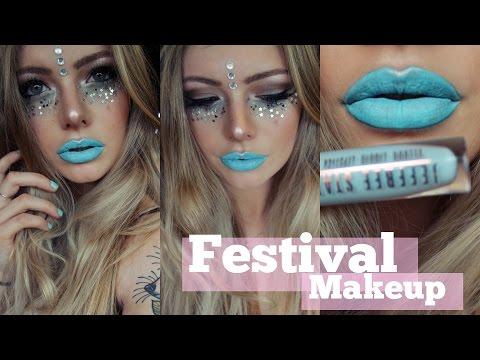 Summer Festival Inspired Makeup Tutorial
