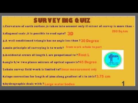 surveying question bank 1