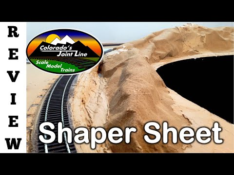 Model Railroading Review: Shaper Sheet by Woodland Scenics