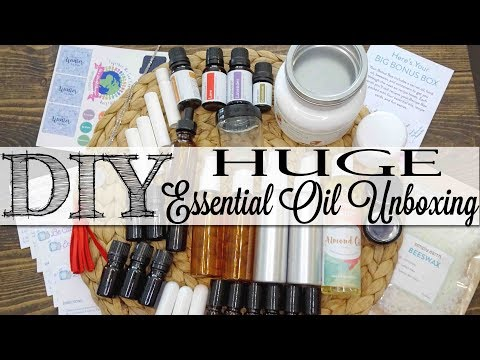 DIY HUGE Essential Oil Unboxing | Simply Earth