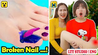 FUNNY UNLUCKY SITUATIONS ! Awkward Situations Girls Can Relate To / Funny Video & Clumsy Girls #7