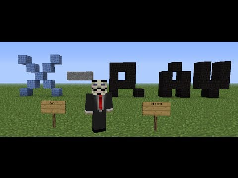How to do a X-RAY glitch in minecraft! [NOT PATCHED FOR 1.6.4]
