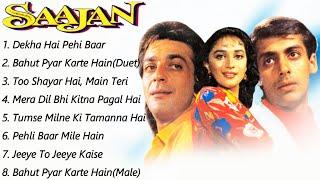 Saajan Movie All Songs  Salman Khan & Madhuri Dixit & Sanjay Dutt  musical world  MUSICAL WORLD  