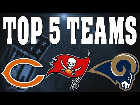 THE 5 BEST TEAMS TO USE IN FRANCHISE MODE IN MADDEN 17