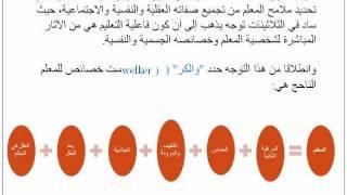 عناصر العملية التعليمية التعلمية