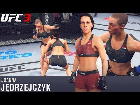 EA UFC 3 Online Slugfest! Joanna vs.