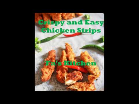 Chicken Strips, How to make Crispy Chicken Strips with Corn Flakes