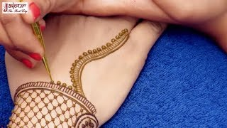 Latest mehndi design for hands | Jewelry mehndi design for stylish girls | henna tattoo #148