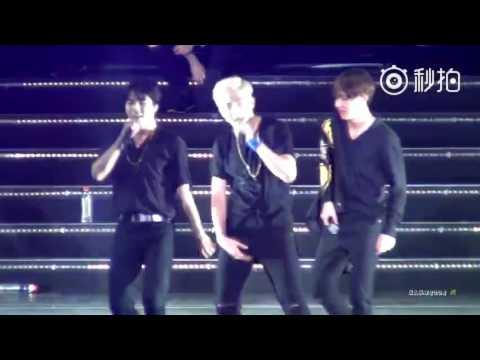 [FANCAM] [160702] BTS concert in Nanjing - fun boys