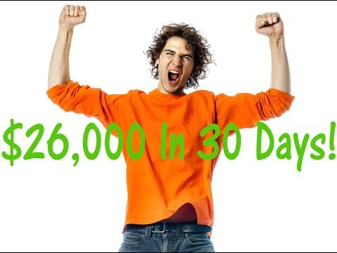 High School Dropout Earns $26,000 in 30 Days! (Here's How)