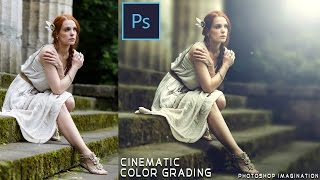 Cinematic Color Grading Effect Photoshop Tutorial