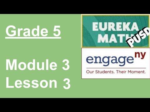 Eureka Math Grade 5 Module 3 Lesson 3 (updated)