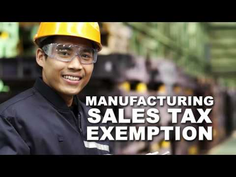 Tax Help for California's Manufacturing Industry
