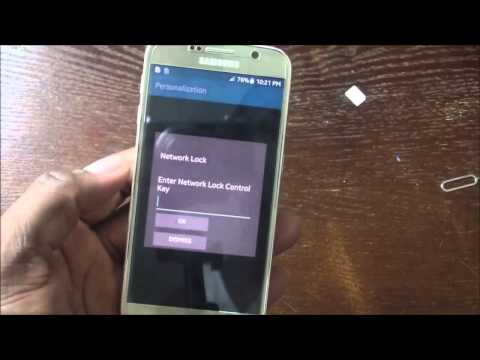 UNLOCK Samsung GALAXY S6   -   use it with any network!  FAST S6 UNLOCKING
