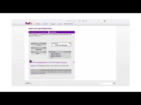 Add a FedEx Freight account number to FedEx Ship Manager at fedex.com